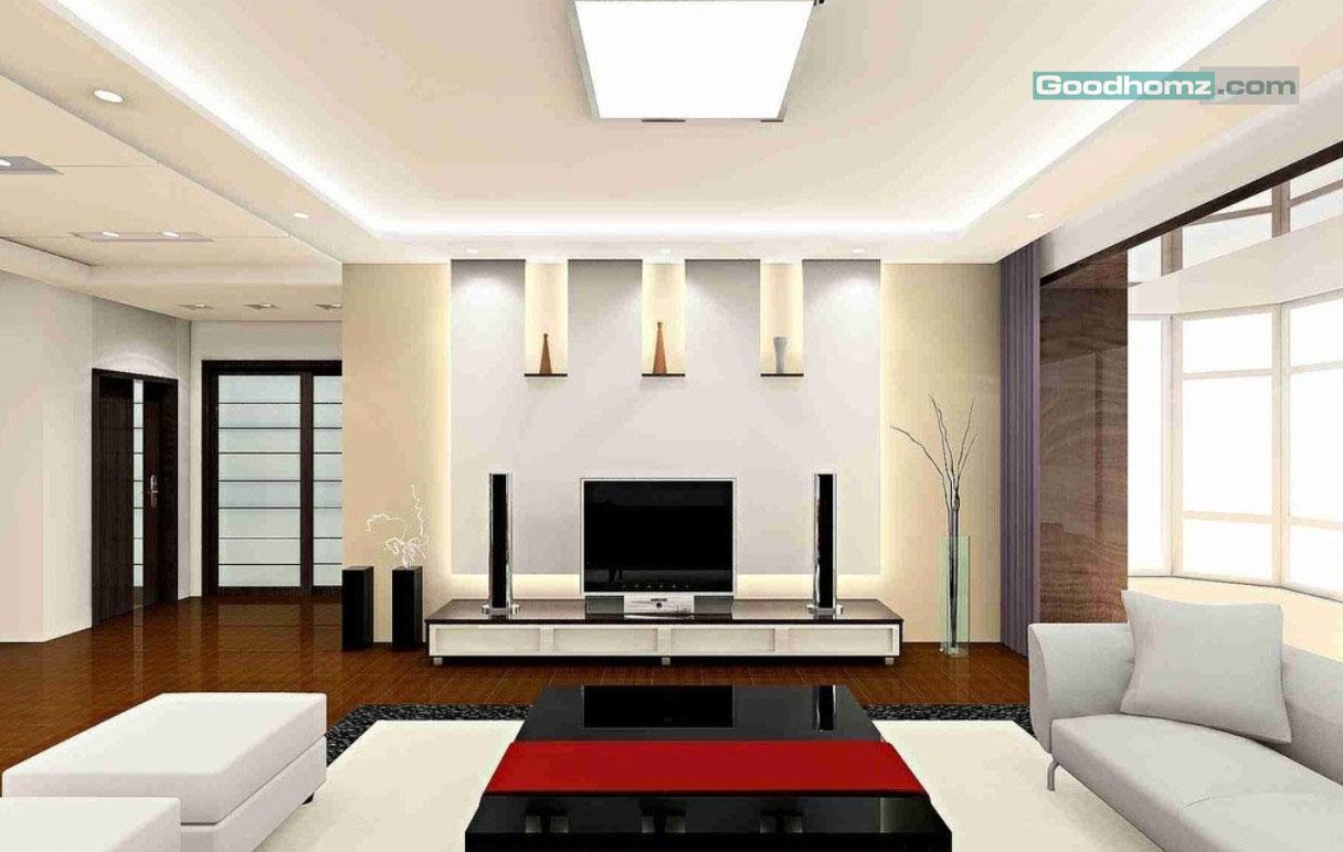 Modern Ceiling Design for Living Room20 – Goodhomz